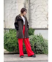 SRIC ★ asymmetry boa rider coat