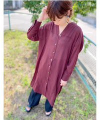 CHIGNONSTAR ★ sheer shirt  one-piece