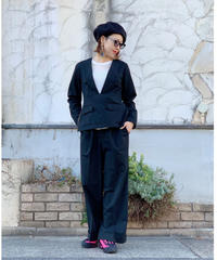 FOSI.★ center press pants