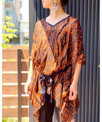 AIC ★ 2way  poncho blouse