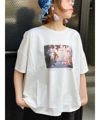 mink chair ★ photo print T-shirt / jeunegge