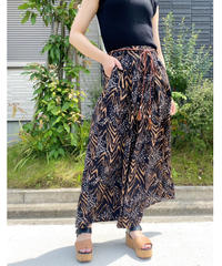 CHIGNON ★ animal print skirt like pants