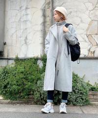 SRIC ★ asymmetry riders long coat