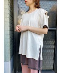 CHIGNON ★ sheer layered T-shirt