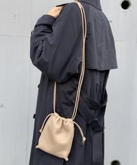 【B-21055】BEAURE ヴュレ カウレザー ミニ ショルダー バッグ