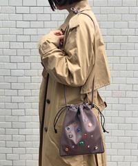 【B-19431】BEAURE ヴュレ ビジュー 巾着 ショルダー
