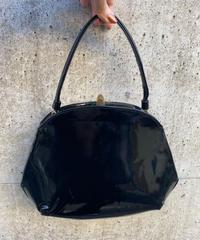 【Vintage】1980's enamel hand bag / エナメルハンドバッグ
