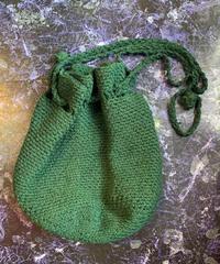 【Used】knit shoulder bag / ニット巾着ショルダーバッグ