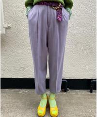 【Used】 Lavender slacks pants / ラベンダースラックスパンツ