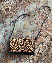 【Vintage】Zebra leather bag / ゼブラ皮バッグ