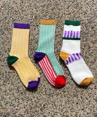 【Select item】Stripe unisex socks / ストライプ男女兼用ソックス / mg661.