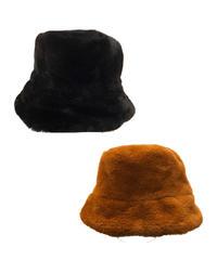 【Selected item】Fur bucket hat  / ファーバケットハット / mg454