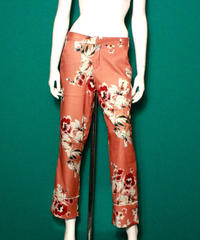 【migration】Flower pants / mg-123 / 花柄パンツ