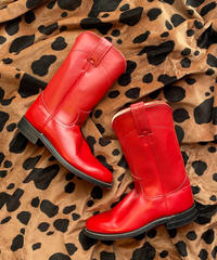 【Used】Red western boots / ウエスタンブーツ