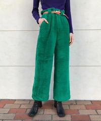 【migration】Wide fur pants / ワイドファーパンツ