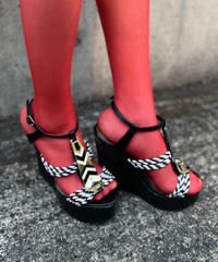 【Used】Wedge sole Sandals / ウェッジソールサンダル