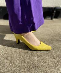【Used】Color heel pumps / カラーヒールパンプス