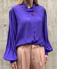 【Vintage】Puff sleeve blouse / パフスリーブブラウス