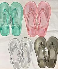 【Selected Item】Clear beach sandal / クリアビーチサンダル / mg-279
