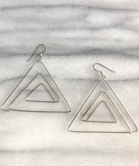 "【Selected item】Silver925pierce""triangle"" / シルバー925ピアス三角"