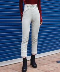 【Used】High waist stretch pants / ハイウエストストレッチパンツ