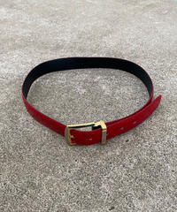 【Used】Color leather belt / カラーレザーベルト