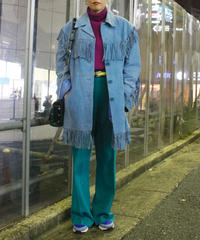 【Used】Oversize fringe jacket / フリンジジャケット