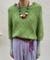 【Used】Dolman sleeve knit tops / ドルマンスリーブニットトップス