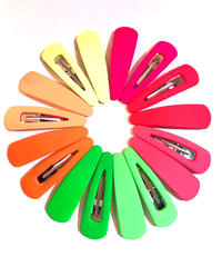 【Selected item】Neon color Hair pin / 蛍光カラーヘアピン / mg