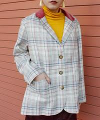 【Used】Plaid jacket / チェック柄ジャケット