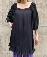 【Used】Pleats tunic one piece / プリーツチュニックワンピース