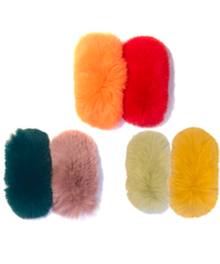 【Selected Item】Rabbit  fur hair pin / ラビットファーヘアピン