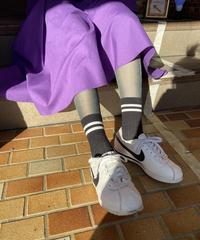 【Selected item】Line color socks / ライン入りカラーソックス / mg322