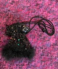 【Used】fur spangles minishoulder bag / ファー付きスパンコールミニバッグ