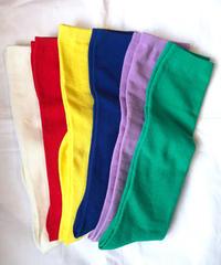【Selected item】Long color socks/ロングカラーソックス/mg379
