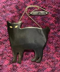 【Used】Cat design shoulder bag / キャットデザインショルダーバッグ