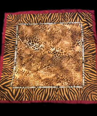 【Used】Animal pattern scarf / アニマル柄スカーフ