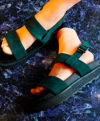 【Selected item】Strap Sandal / green / mg15