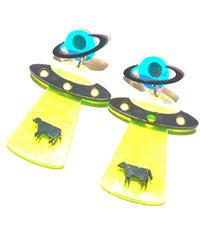 【Selected item】UFO acryl pierce / アクリルピアス