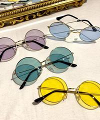 【Selected Item】Round frame sunglasses / mg199 / マルフレームサングラス