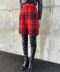 【Used】Plaid short pants / チェックショートパンツ