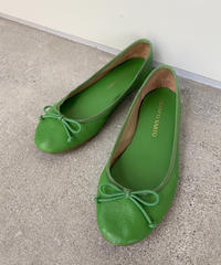 【Used】Leather flat shoes / レザーフラットシューズ