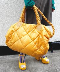 【Used】Quilting boston bag / キルティング ボストンバッグ