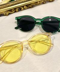【selected Item】Color boston sunglasses /カラーボストンサングラス /mg-242