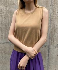 【Used】Basic sleeveless tops / ベーシックノースリーブトップス