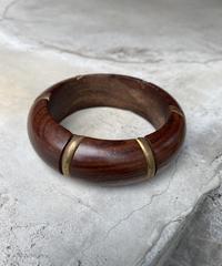 【Used】Wood bangle / 木バングル