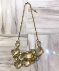 【Used】Bijou necklace / ビジューネックレス