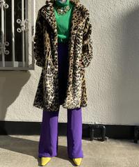 【migration】Leopard fur coat / レオパードファーコート
