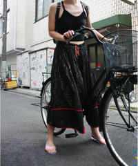 【Vintage】Lameyarn long skirt/ラメロングスカート