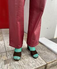 """【Used】""""Yves Saint Laurent""""velvet strap sandal / ベルベットストラップサンダル"""